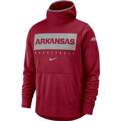 Arkansas Nike Basketball Spotlight Pullover Hoody