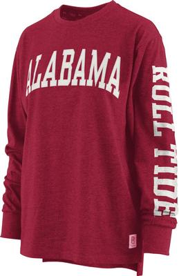 Alabama Pressbox Women's Canyon Melange Tee