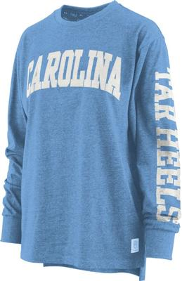 North Carolina Pressbox Women's Canyon Melange Tee