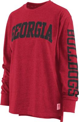 Georgia Pressbox Women's Canyon Melange Tee