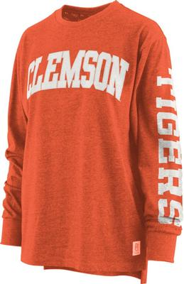 Clemson Pressbox Women's Canyon Melange Tee