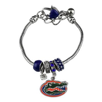 Florida Multi Charm Logo Bracelet