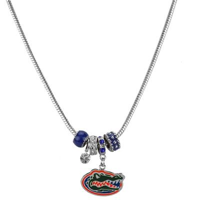Florida Multi Charm Logo Necklace
