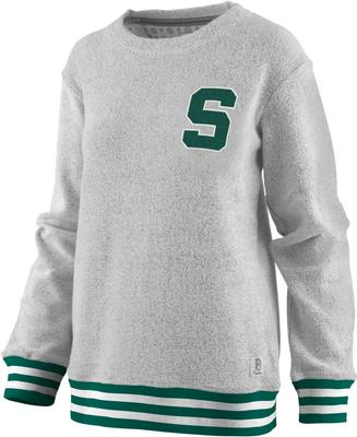 Michigan State Pressbox Women's Santa Rosa Comfy Terry