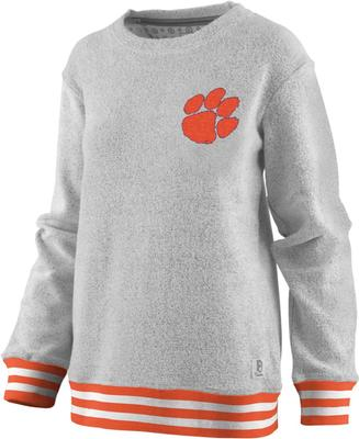Clemson Pressbox Women's Santa Rosa Comfy Terry