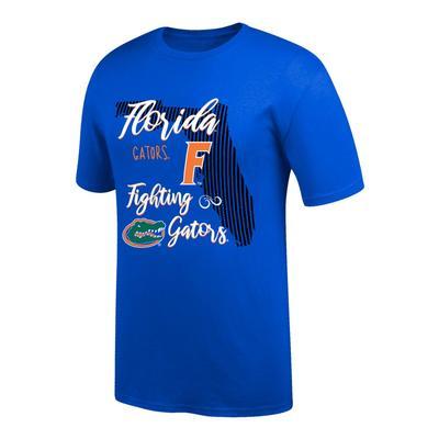 Florida Women's Script State Tee Shirt