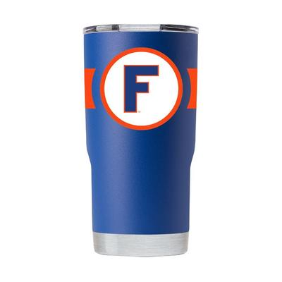 Florida Gametime Sidekicks 20oz Throwback Block F Tumbler