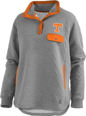 Tennessee Pressbox Women's Magnum Quilted 1/4 Snap