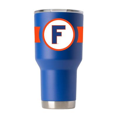 Florida Gametime Sidekicks 30oz Throwback Block F Tumbler