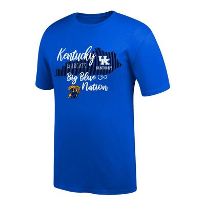 Kentucky Women's Script State Tee Shirt