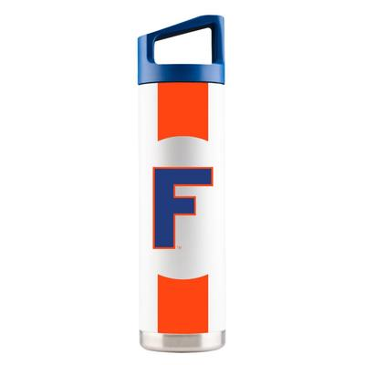 Florida Gametime Sidekicks 22oz Throwback Block F Bottle