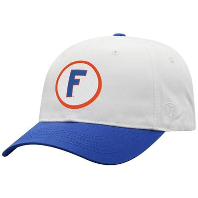 Florida Top Of The World Throwback Block F Hat