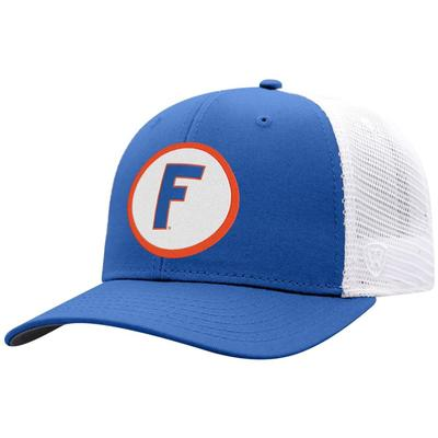 Florida Top Of The World Throwback Block F Mesh Back Hat