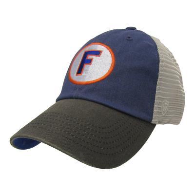 Florida Top Of The World Throwback Block F Three Tone Hat