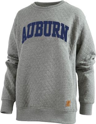Auburn Pressbox Women's Moose Quilted Sweatshirt