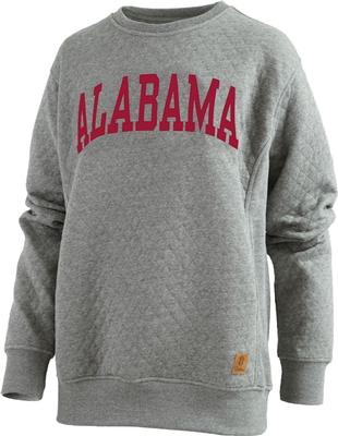 Alabama Pressbox Women's Moose Quilted Sweatshirt