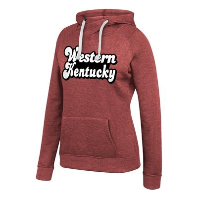 Western Kentucky Tri-Blend Fleece Hoodie Sweatshirt