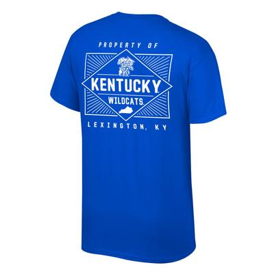 Kentucky Women's Property of Lexington Tee Shirt ROYAL