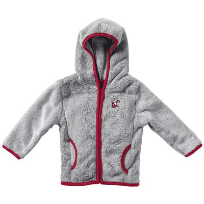 Alabama Colosseum Infant Girl's Faux Fur Jacket