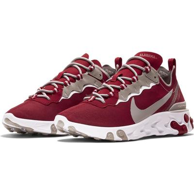 Alabama Nike React Element 55 (Men's Sizing)
