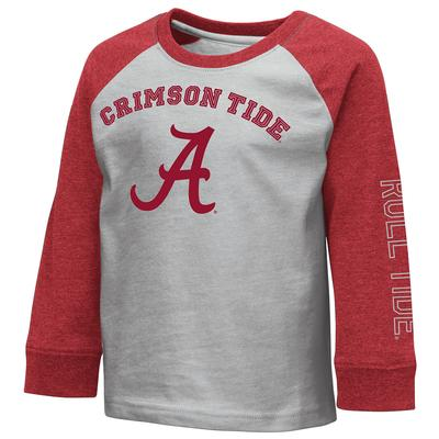 Alabama Colosseum Toddler Boys Raglan Tee
