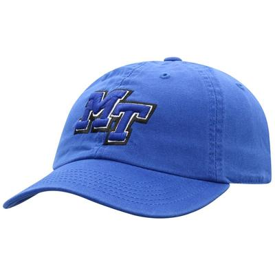 MTSU Zoey MT Logo Washed Cotton Adjustable Hat