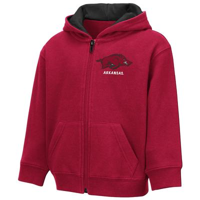 Arkansas Colosseum Toddler Full Zip Hoodie