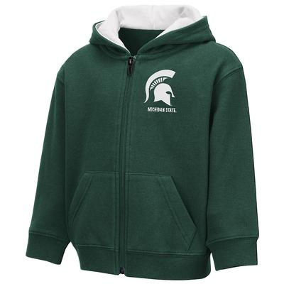 Michigan State Colosseum Toddler Full Zip Hoodie