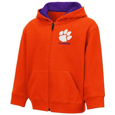 Clemson Colosseum Toddler Full Zip Hoodie