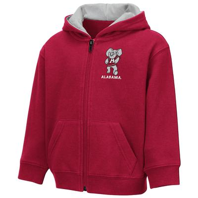 Alabama Colosseum Toddler Full Zip Hoodie