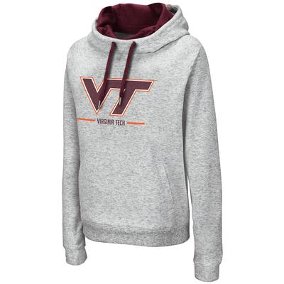 Virginia Tech Colosseum Women's Lily Funnel Neck Hoodie