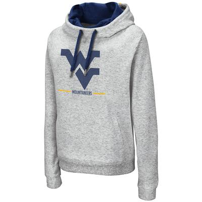 West Virginia Colosseum Women's Lily Funnel Neck Hoodie