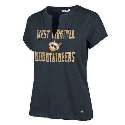 West Virginia '47 Brand Vault State Gamma Tee