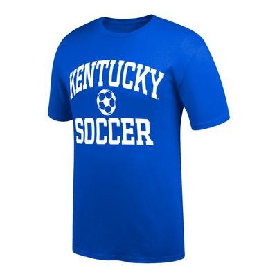 Kentucky Arch Soccer Tee Shirt ROYAL