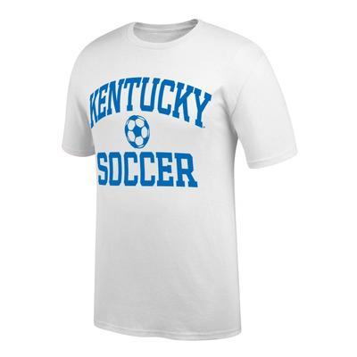 Kentucky Arch Soccer Tee Shirt WHITE