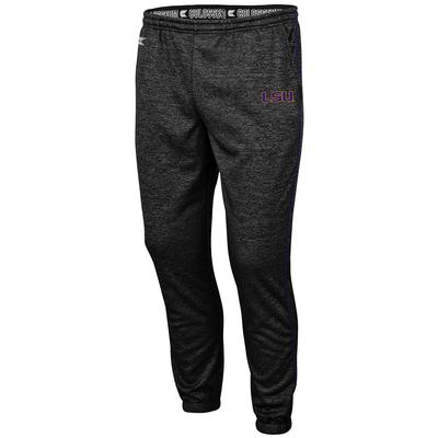 LSU Colosseum Men's Burns Poly Fleece Pants