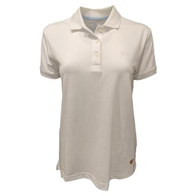 Virginia Tech Southern Tide Women's Jackee Performance Polo