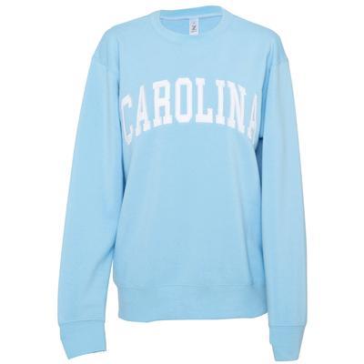UNC ZooZatz Women's Sport Crew Sweatshirt CAROLINA_BLUE