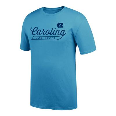 North Carolina Logo Script Name Tee Shirt