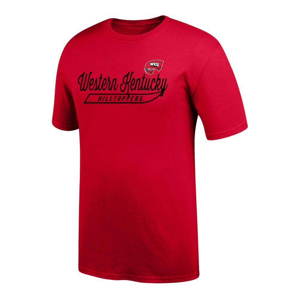 Western Kentucky Logo Script Name Tee Shirt