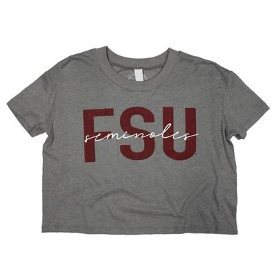 Florida State Kickoff Couture Iconic Cropped Tee