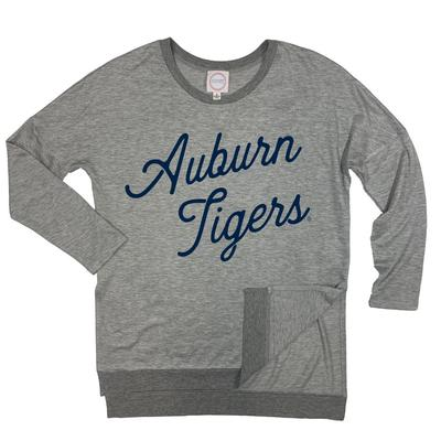 Auburn Kickoff Couture Spirit Side Slit Pullover
