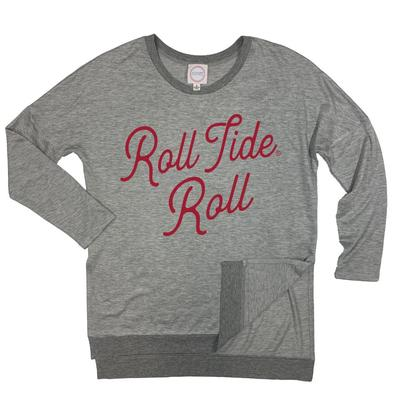 Alabama Kickoff Couture Spirit Side Slit Pullover