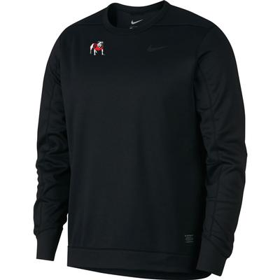 Georgia Bulldogs Nike Golf Therma Crew Sweater