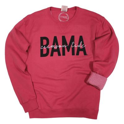 Alabama Kickoff Couture Iconic Crewneck Pullover