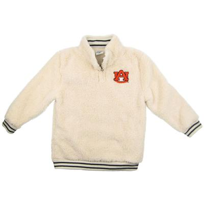 Auburn ZooZatz Youth Sherpa Quarter Zip