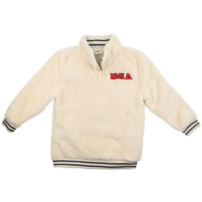 Georgia ZooZatz Youth Sherpa Quarter Zip