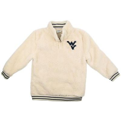 West Virginia ZooZatz Youth Sherpa Quarter Zip