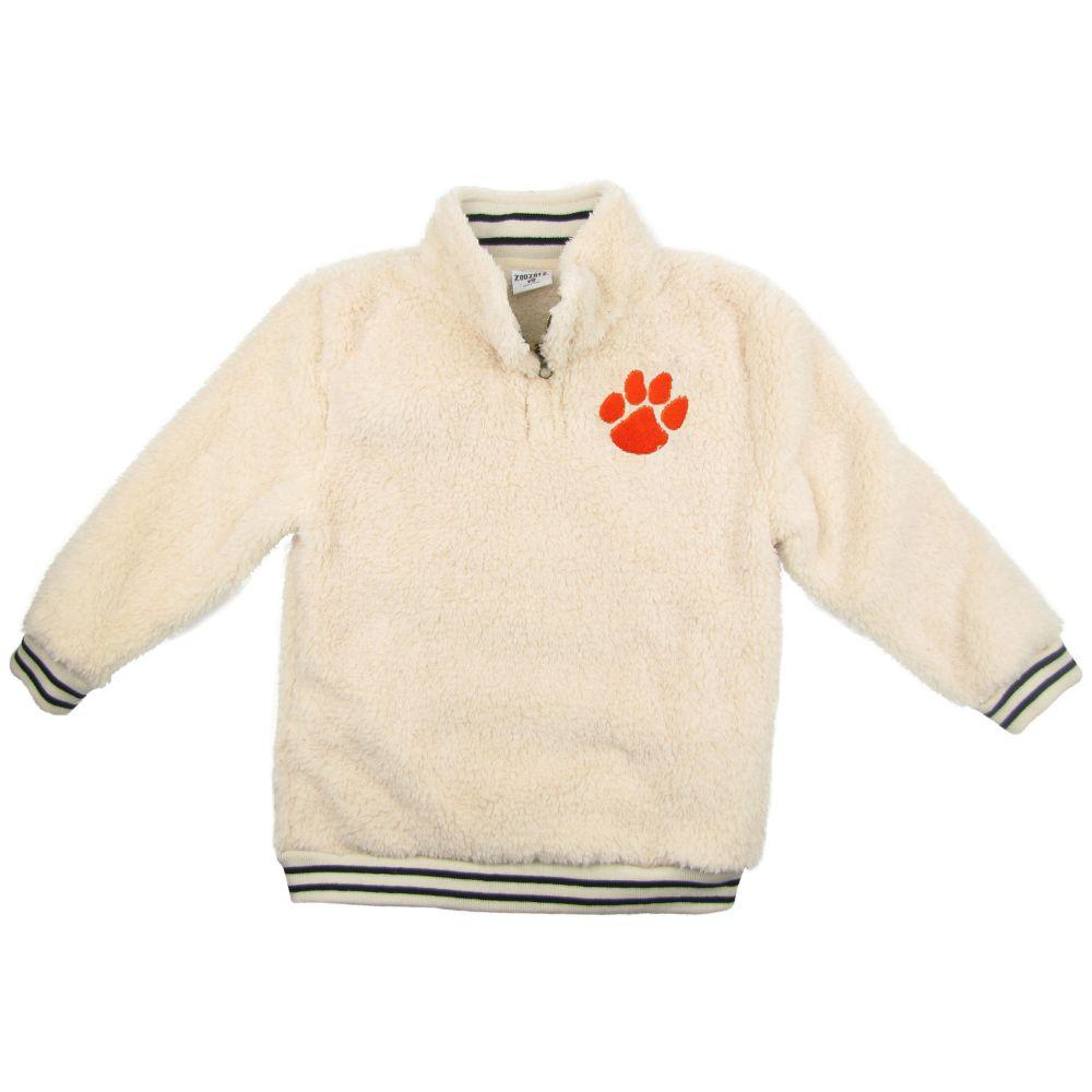 Clemson Zoozatz Youth Sherpa Quarter Zip