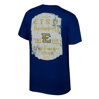 ETSU Women's Plaque and Logo Tee Shirt